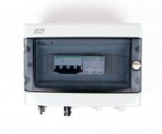 Boitier de protection et de coupure DC 600V - 25A - 2 Strings - 1Tracker