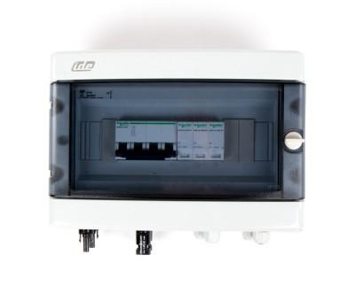 Boitier de protection et de coupure DC 1000V - 25A - 2 Strings - 1Tracker