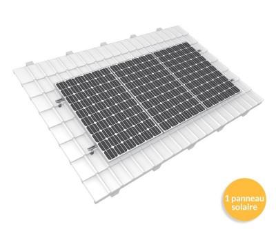 Panneau solaire sur toiture plate