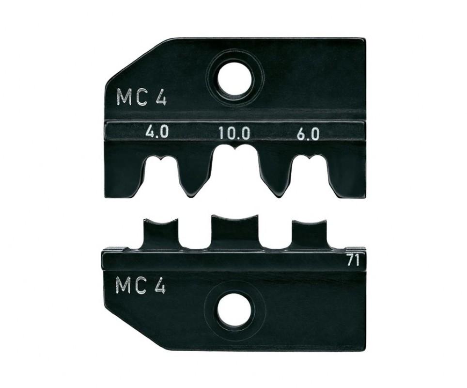 0d9ac536bcc1dc Profil de sertissage Knipex pour pince à sertir universelle - connecteur MC4  - 4 6
